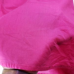 J. Crew Tops - J. Crew Hot Pink Long Sleeved Cotton Blouse, New